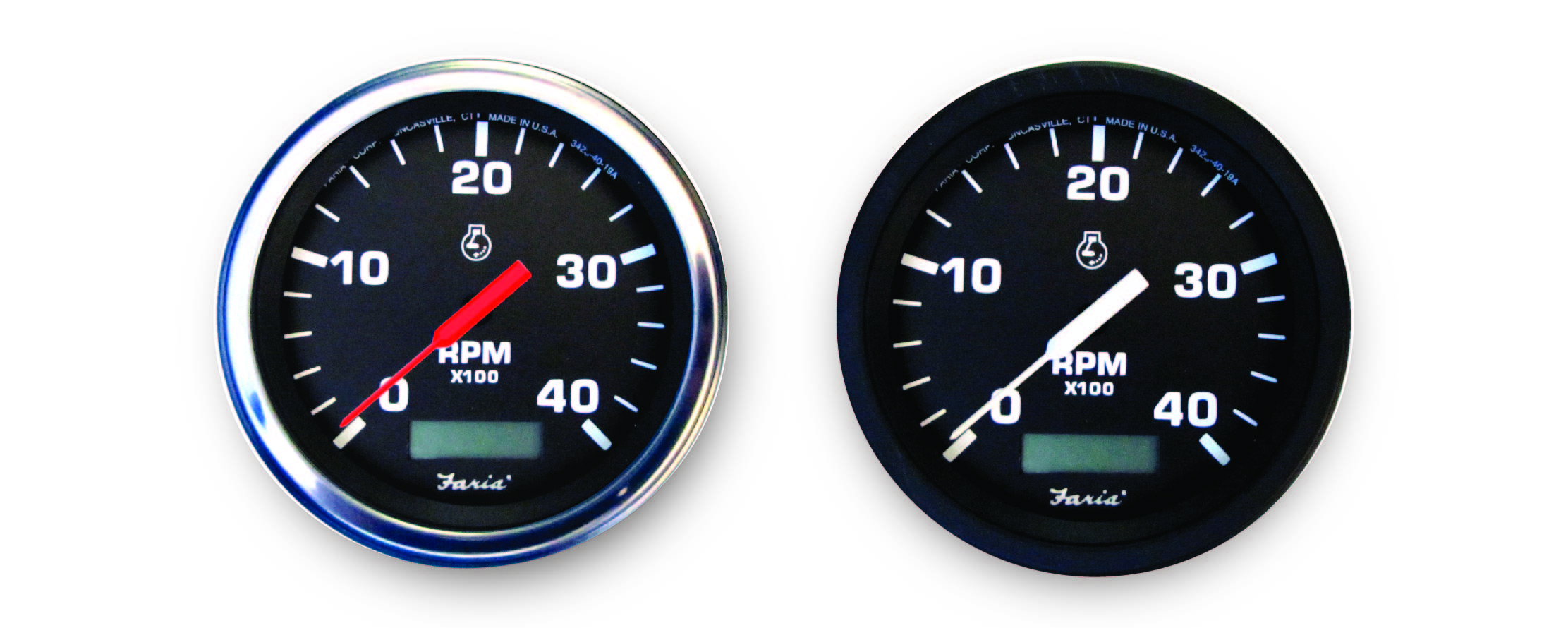 Tachometer with Hourmeter