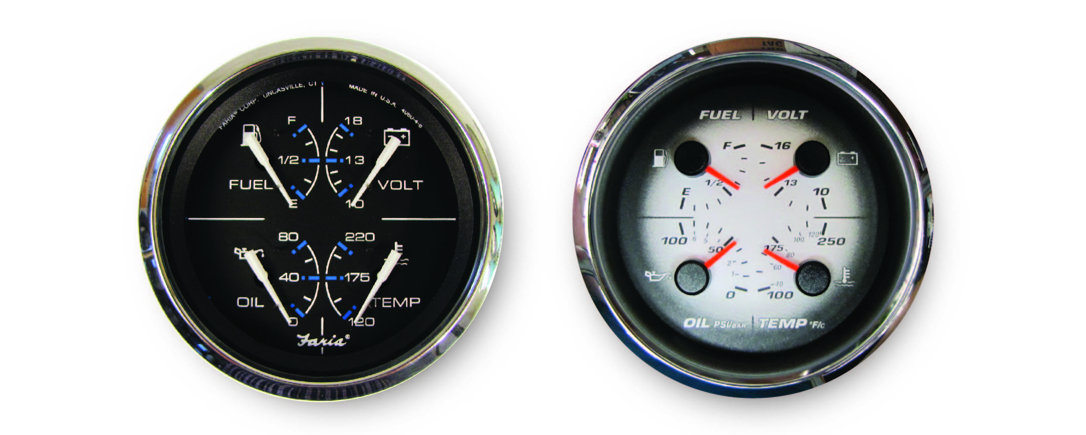Multifunction gauges
